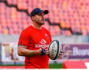 16 September 2018; Ulster scrum coach Aaron Dundon prior to the Guinness PRO14 Round 3 match between Southern Kings and Ulster at Nelson Mandela Bay Stadium in Port Elizabeth, South Africa. Photo by Michael Sheehan/Sportsfile