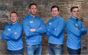 19 September 2018: Electric Ireland Minor Star Award's Judge, Kilkenny hurler Michael Fennelly is today unveiling the 2018 Electric Ireland Minor Hurling Team of the Year. The Hurling and Football Teams of the Year will be awarded at the Electric Ireland Minor Star Awards, on 29 September in Croke Park, when the Hurling and Football Players of the Year will also be announced. As the culmination of Electric Ireland's 'This is Major' campaign, the event is a major moment for the players and highlights the success achieved throughout the Championship. The Minor Star Awards will celebrate the talent of the players, as well as the dedication of the clubs, families, and communities that have supported them along the way. In attendance are, from left, Ollie Canning, Michael Fennelly, Sean Cavanagh and Daniel Goulding. Photo by David Fitzgerald/Sportsfile