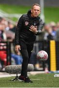 16 September 2018; Derry City manager Kenny Shiels during the EA SPORTS Cup Final between Derry City and Cobh Ramblers at the Brandywell Stadium in Derry. Photo by Stephen McCarthy/Sportsfile