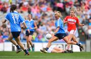 16 September 2018; Carla Rowe of Dublin shoots to score her sides second goal during the TG4 All-Ireland Ladies Football Senior Championship Final match between Cork and Dublin at Croke Park, Dublin. Photo by Sam Barnes/Sportsfile