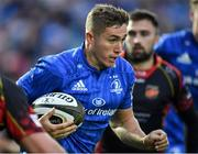 15 September 2018; Jordan Larmour of Leinster during the Guinness PRO14 Round 3 match between Leinster and Dragons at the RDS Arena in Dublin. Photo by Brendan Moran/Sportsfile