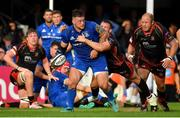 15 September 2018; Andrew Porter of Leinster during the Guinness PRO14 Round 3 match between Leinster and Dragons at the RDS Arena in Dublin. Photo by Brendan Moran/Sportsfile