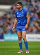 15 September 2018; Rob Kearney of Leinster during the Guinness PRO14 Round 3 match between Leinster and Dragons at the RDS Arena in Dublin. Photo by Brendan Moran/Sportsfile