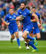 15 September 2018; Robbie Henshaw of Leinster during the Guinness PRO14 Round 3 match between Leinster and Dragons at the RDS Arena in Dublin. Photo by Brendan Moran/Sportsfile