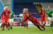 17 September 2018; Nela Soutkiva of Czech Republic during the Women's U17 International Friendly match between Republic of Ireland and Czech Republic at the RSC in Waterford. Photo by Harry Murphy/Sportsfile