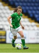 17 September 2018; Emily Whelan of Republic of Ireland during the Women's U17 International Friendly match between Republic of Ireland and Czech Republic at the RSC in Waterford. Photo by Harry Murphy/Sportsfile