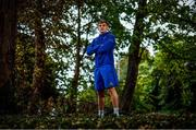 17 September 2018; Garry Ringrose poses for a portrait following a Leinster Rugby press conference at Leinster Rugby Headquarters in Dublin. Photo by Ramsey Cardy/Sportsfile