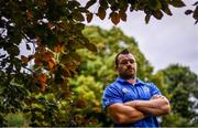 17 September 2018; Cian Healy poses for a portrait following a Leinster Rugby press conference at Leinster Rugby Headquarters in Dublin. Photo by Ramsey Cardy/Sportsfile
