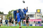 17 September 2018; Backs coach Felipe Contepomi and Fergus McFadden during Leinster Rugby squad training at Energia Park in Donnybrook, Dublin. Photo by Ramsey Cardy/Sportsfile