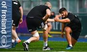 17 September 2018; Vakh Abdaladze during Leinster Rugby squad training at Energia Park in Donnybrook, Dublin. Photo by Ramsey Cardy/Sportsfile