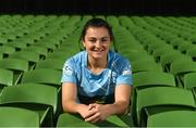 18 September 2018; Mary Healy of Galwegians R.F.C., during the All-Ireland League and Women's All-Ireland League 2018/19 Season launch at the Aviva Stadium in Dublin. Photo by Harry Murphy/Sportsfile