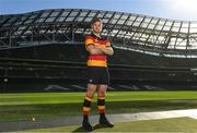 18 September 2018; Jack O'Sullivan of Lansdowne R.F.C., during the All-Ireland League and Women's All-Ireland League 2018/19 Season launch at the Aviva Stadium in Dublin. Photo by Harry Murphy/Sportsfile