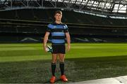 18 September 2018; Will Leonard of Shannon R.F.C., during the All-Ireland League and Women's All-Ireland League 2018/19 Season launch at the Aviva Stadium in Dublin. Photo by Harry Murphy/Sportsfile