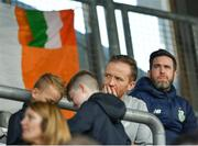 18 September 2018; Shamrock Rovers manager Stephen Bradley in the stands during the Under 17 International Friendly match between Republic of Ireland and Turkey at Tallaght Stadium in Tallaght, Dublin. Photo by Eóin Noonan/Sportsfile
