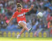 16 September 2018; Eimear Scally of Cork during the TG4 All-Ireland Ladies Football Senior Championship Final match between Cork and Dublin at Croke Park, Dublin. Photo by Brendan Moran/Sportsfile
