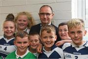 19 September 2018; Republic of Ireland manager Martin O'Neill during a visit to St Peters National School in Bray, Co Wicklow. Photo by Piaras Ó Mídheach/Sportsfile