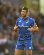 15 September 2018; Rob Kearney of Leinster during the Guinness PRO14 Round 3 match between Leinster and Dragons at the RDS Arena in Dublin. Photo by David Fitzgerald/Sportsfile