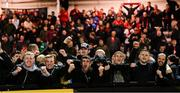 19 September 2018; Bohemians supporters celebrate following the Irish Daily Mail FAI Cup Quarter-Final match between Derry City and Bohemians at the Brandywell Stadium in Derry. Photo by Stephen McCarthy/Sportsfile