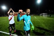19 September 2018; Shane Supple of Bohemians celebrates following the Irish Daily Mail FAI Cup Quarter-Final match between Derry City and Bohemians at the Brandywell Stadium in Derry. Photo by Stephen McCarthy/Sportsfile