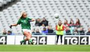 16 September 2018; Catríona Davis of Limerick during the TG4 All-Ireland Ladies Football Junior Championship Final match between Limerick and Louth at Croke Park, Dublin. Photo by David Fitzgerald/Sportsfile