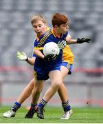 22 September 2018; Action from the game between Owenmore Gaels, Co. Sligo and Clann na nGael, Co. Roscommon during the Littlewoods Ireland Connacht Provincial Days Go Games in Croke Park. This year over 6,000 boys and girls aged between six and eleven represented their clubs in a series of mini blitzes and – just like their heroes – got to play in Croke Park. For exclusive content and behind the scenes action follow Littlewoods Ireland on Facebook, Instagram, Twitter and https://blog.littlewoodsireland.ie/ Photo by Eóin Noonan/Sportsfile