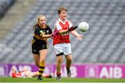 22 September 2018; Action from the game between Cliffton, Co. Galway and Bornacoola, Co Leitrim during the Littlewoods Ireland Connacht Provincial Days Go Games in Croke Park. This year over 6,000 boys and girls aged between six and eleven represented their clubs in a series of mini blitzes and – just like their heroes – got to play in Croke Park. For exclusive content and behind the scenes action follow Littlewoods Ireland on Facebook, Instagram, Twitter and https://blog.littlewoodsireland.ie/ Photo by Eóin Noonan/Sportsfile