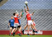 22 September 2018; Action from the game between Cliffton, Co. Galway and Western Gaels, Co. Sligo during the Littlewoods Ireland Connacht Provincial Days Go Games in Croke Park. This year over 6,000 boys and girls aged between six and eleven represented their clubs in a series of mini blitzes and – just like their heroes – got to play in Croke Park. For exclusive content and behind the scenes action follow Littlewoods Ireland on Facebook, Instagram, Twitter and https://blog.littlewoodsireland.ie/ Photo by Eóin Noonan/Sportsfile
