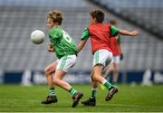 22 September 2018; Action from the game between St. Molaise Gaels, Sligo, and Caltra, Galway during the Littlewoods Ireland Connacht Provincial Days Go Games in Croke Park. This year over 6,000 boys and girls aged between six and eleven represented their clubs in a series of mini blitzes and – just like their heroes – got to play in Croke Park. For exclusive content and behind the scenes action follow Littlewoods Ireland on Facebook, Instagram, Twitter and https://blog.littlewoodsireland.ie/ Photo by Eóin Noonan/Sportsfile