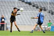 22 September 2018; Action from the game between Bornacoola, Co Leitrim and Western Gaels, Co. Sligo during the Littlewoods Ireland Connacht Provincial Days Go Games in Croke Park. This year over 6,000 boys and girls aged between six and eleven represented their clubs in a series of mini blitzes and – just like their heroes – got to play in Croke Park. For exclusive content and behind the scenes action follow Littlewoods Ireland on Facebook, Instagram, Twitter and https://blog.littlewoodsireland.ie/ Photo by Eóin Noonan/Sportsfile