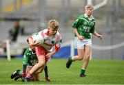 22 September 2018; Action from the game betweeen Caltra, Co. Galway and St. Faithleachs, Co. Roscommon during the Littlewoods Ireland Connacht Provincial Days Go Games in Croke Park. This year over 6,000 boys and girls aged between six and eleven represented their clubs in a series of mini blitzes and – just like their heroes – got to play in Croke Park. For exclusive content and behind the scenes action follow Littlewoods Ireland on Facebook, Instagram, Twitter and https://blog.littlewoodsireland.ie/ Photo by Eóin Noonan/Sportsfile