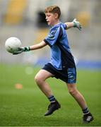 22 September 2018; Colin Drury of Western Gaels, Co. Sligo during the Littlewoods Ireland Connacht Provincial Days Go Games in Croke Park. This year over 6,000 boys and girls aged between six and eleven represented their clubs in a series of mini blitzes and – just like their heroes – got to play in Croke Park. For exclusive content and behind the scenes action follow Littlewoods Ireland on Facebook, Instagram, Twitter and https://blog.littlewoodsireland.ie/ Photo by Eóin Noonan/Sportsfile