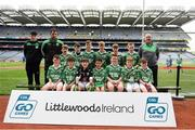 22 September 2018; Caltra, Co. Galway during the Littlewoods Ireland Connacht Provincial Days Go Games in Croke Park. This year over 6,000 boys and girls aged between six and eleven represented their clubs in a series of mini blitzes and – just like their heroes – got to play in Croke Park. For exclusive content and behind the scenes action follow Littlewoods Ireland on Facebook, Instagram, Twitter and https://blog.littlewoodsireland.ie/ Photo by Eóin Noonan/Sportsfile