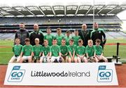 22 September 2018; St. Molaise Gaels, Co. Sligo during the Littlewoods Ireland Connacht Provincial Days Go Games in Croke Park. This year over 6,000 boys and girls aged between six and eleven represented their clubs in a series of mini blitzes and – just like their heroes – got to play in Croke Park. For exclusive content and behind the scenes action follow Littlewoods Ireland on Facebook, Instagram, Twitter and https://blog.littlewoodsireland.ie/ Photo by Eóin Noonan/Sportsfile