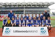 22 September 2018; Owenmore Gaels, Co. Sligo during the Littlewoods Ireland Connacht Provincial Days Go Games in Croke Park. This year over 6,000 boys and girls aged between six and eleven represented their clubs in a series of mini blitzes and – just like their heroes – got to play in Croke Park. For exclusive content and behind the scenes action follow Littlewoods Ireland on Facebook, Instagram, Twitter and https://blog.littlewoodsireland.ie/ Photo by Eóin Noonan/Sportsfile