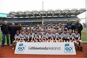 22 September 2018; Kilmeena, Co. Mayo during the Littlewoods Ireland Connacht Provincial Days Go Games in Croke Park. This year over 6,000 boys and girls aged between six and eleven represented their clubs in a series of mini blitzes and – just like their heroes – got to play in Croke Park. For exclusive content and behind the scenes action follow Littlewoods Ireland on Facebook, Instagram, Twitter and https://blog.littlewoodsireland.ie/ Photo by Eóin Noonan/Sportsfile