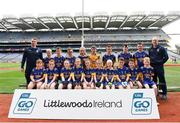 22 September 2018; Cloone, Co. Leitrim during the Littlewoods Ireland Connacht Provincial Days Go Games in Croke Park. This year over 6,000 boys and girls aged between six and eleven represented their clubs in a series of mini blitzes and – just like their heroes – got to play in Croke Park. For exclusive content and behind the scenes action follow Littlewoods Ireland on Facebook, Instagram, Twitter and https://blog.littlewoodsireland.ie/ Photo by Eóin Noonan/Sportsfile