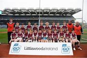 22 September 2018; Annaghdown, Co. Galway during the Littlewoods Ireland Connacht Provincial Days Go Games in Croke Park. This year over 6,000 boys and girls aged between six and eleven represented their clubs in a series of mini blitzes and – just like their heroes – got to play in Croke Park. For exclusive content and behind the scenes action follow Littlewoods Ireland on Facebook, Instagram, Twitter and https://blog.littlewoodsireland.ie/ Photo by Eóin Noonan/Sportsfile