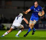 22 September 2018; Devin Toner of Leinster in action against Allan Dell of Edinburgh during the Guinness PRO14 Round 4 match between Leinster and Edinburgh at the RDS Arena in Dublin. Photo by David Fitzgerald/Sportsfile