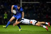 22 September 2018; Jonathan Sexton of Leinster in action against Chris Dean of Edinburgh during the Guinness PRO14 Round 4 match between Leinster and Edinburgh at the RDS Arena in Dublin. Photo by David Fitzgerald/Sportsfile