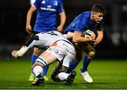 22 September 2018; Garry Ringrose of Leinster is tackled by Ben Toolis of Edinburgh during the Guinness PRO14 Round 4 match between Leinster and Edinburgh at the RDS Arena in Dublin. Photo by David Fitzgerald/Sportsfile
