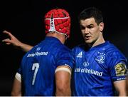 22 September 2018; Jonathan Sexton, right, and Josh van der Flier of Leinster during the Guinness PRO14 Round 4 match between Leinster and Edinburgh at the RDS Arena in Dublin. Photo by David Fitzgerald/Sportsfile