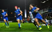 22 September 2018; James Lowe of Leinster during the Guinness PRO14 Round 4 match between Leinster and Edinburgh at the RDS Arena in Dublin. Photo by Ramsey Cardy/Sportsfile