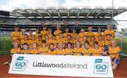 23 September 2018; The Glencar Manorhamilton, Co Leitrim, team at the Littlewoods Ireland Connacht Provincial Days Go Games in Croke Park. This year over 6,000 boys and girls aged between six and eleven represented their clubs in a series of mini blitzes and – just like their heroes – got to play in Croke Park. For exclusive content and behind the scenes action follow Littlewoods Ireland on Facebook, Instagram, Twitter and https://blog.littlewoodsireland.ie/ Photo by Piaras Ó Mídheach/Sportsfile