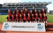 23 September 2018; The Fenagh, Co Leitrim, team at the Littlewoods Ireland Connacht Provincial Days Go Games in Croke Park. This year over 6,000 boys and girls aged between six and eleven represented their clubs in a series of mini blitzes and – just like their heroes – got to play in Croke Park. For exclusive content and behind the scenes action follow Littlewoods Ireland on Facebook, Instagram, Twitter and https://blog.littlewoodsireland.ie/ Photo by Piaras Ó Mídheach/Sportsfile