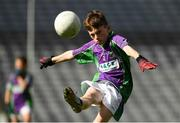 23 September 2018; Rosco McDaid of Leitrim Gaels during the Littlewoods Ireland Connacht Provincial Days Go Games in Croke Park. This year over 6,000 boys and girls aged between six and eleven represented their clubs in a series of mini blitzes and – just like their heroes – got to play in Croke Park. For exclusive content and behind the scenes action follow Littlewoods Ireland on Facebook, Instagram, Twitter and https://blog.littlewoodsireland.ie/ Photo by Piaras Ó Mídheach/Sportsfile