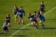 23 September 2018; James Stenson of Leitrim Gaels, Co Leitrim, in action against Headford, Co Galway, during the Littlewoods Ireland Connacht Provincial Days Go Games in Croke Park. This year over 6,000 boys and girls aged between six and eleven represented their clubs in a series of mini blitzes and – just like their heroes – got to play in Croke Park. For exclusive content and behind the scenes action follow Littlewoods Ireland on Facebook, Instagram, Twitter and https://blog.littlewoodsireland.ie/ Photo by Piaras Ó Mídheach/Sportsfile