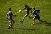 23 September 2018; Jay Keane of Leitrim Gaels, Co Leitrim, in action against Headford, Co Galway, during the Littlewoods Ireland Connacht Provincial Days Go Games in Croke Park. This year over 6,000 boys and girls aged between six and eleven represented their clubs in a series of mini blitzes and – just like their heroes – got to play in Croke Park. For exclusive content and behind the scenes action follow Littlewoods Ireland on Facebook, Instagram, Twitter and https://blog.littlewoodsireland.ie/ Photo by Piaras Ó Mídheach/Sportsfile