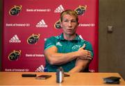 24 September 2018; Forwards coach Jerry Flannery during a Munster Rugby press conference at the University of Limerick in Limerick. Photo by Diarmuid Greene/Sportsfile