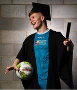 24 September 2018; Conor Kane of Maynooth University during the Rustlers Third Level Season Launch at Campus Conference Centre, in FAI HQ, Dublin. Photo by David Fitzgerald/Sportsfile