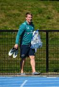 24 September 2018; Forwards coach Jerry Flannery arrives for Munster Rugby squad training at the University of Limerick in Limerick. Photo by Diarmuid Greene/Sportsfile